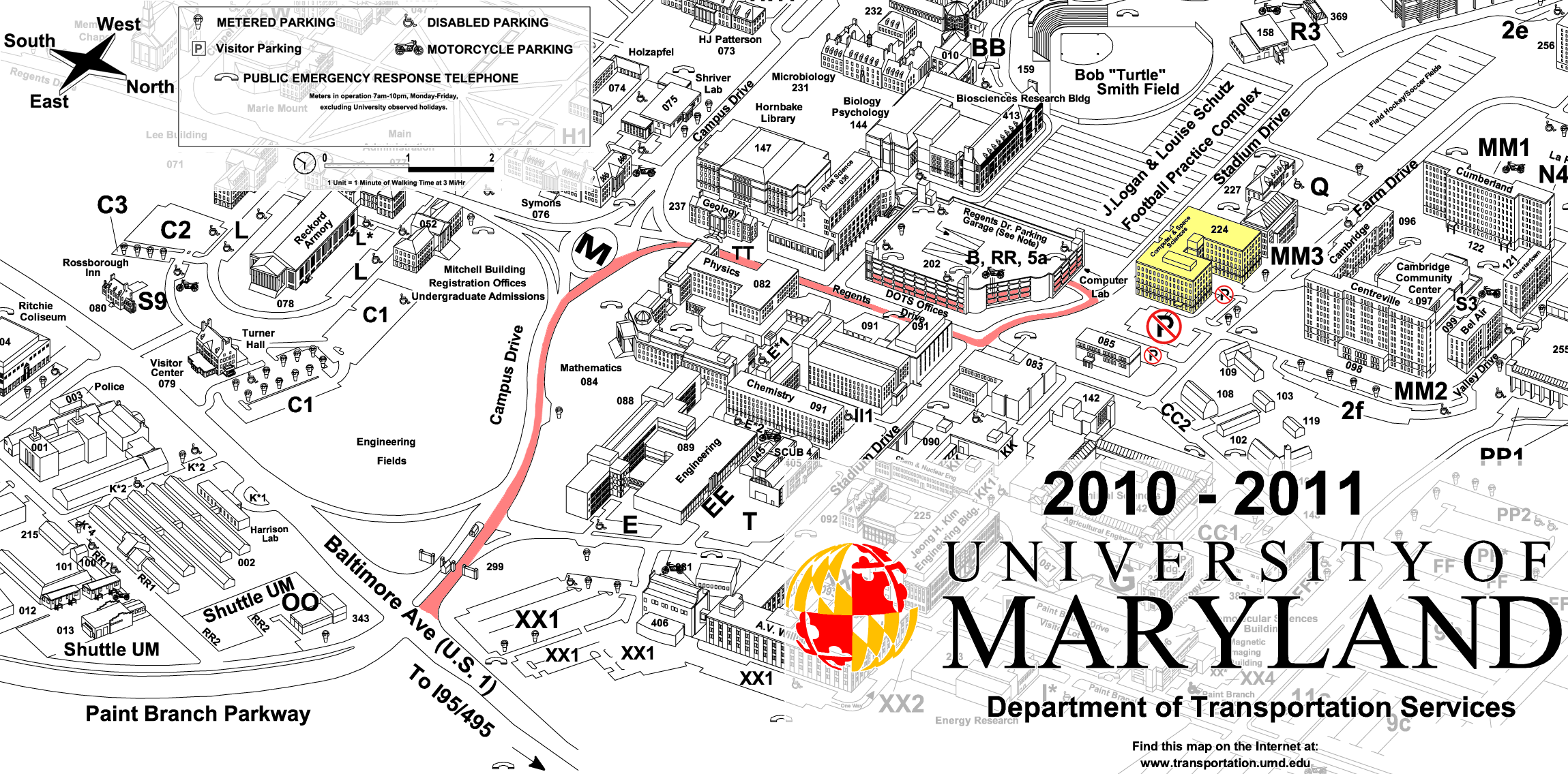 UMD Space Physics Group Maps